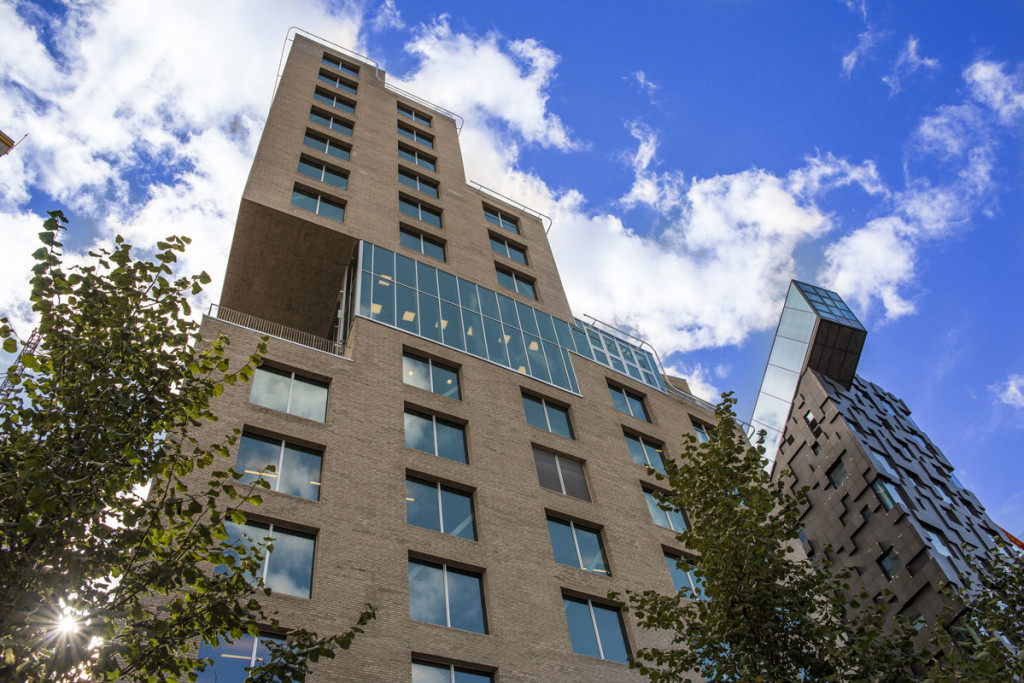 Bildet av DNB-bygget