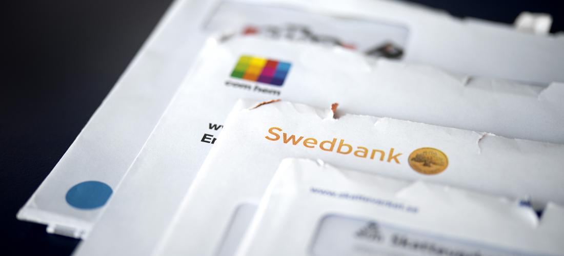 regninger på et bord som ignoreres kan føre til betalingsanmerkning