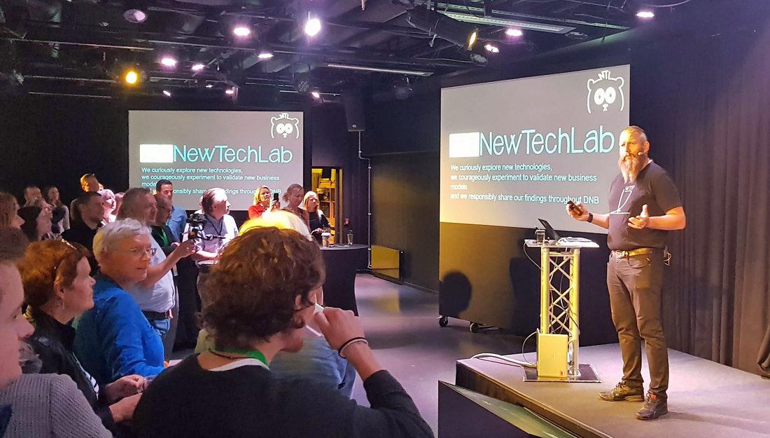 8b88b2d6 BRENNER FOR INTRAPRENØRSKAP: Direktør for New Tech Lab i DNB, Yngvar  Ugland, brenner for intraprenørskap. Her har lanserer han nyutviklede DNB  Tech Radar ...